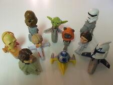 LOT of 10 Star Wars McDonalds Kid's Meal Mini - Bobbleheads