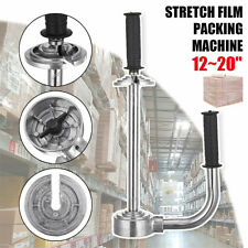 12-20'' Handle Stretch Film Wrapping Dispenser Tools Pallet Packing Machine US