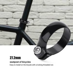 MOUNTAIN BIKE MTB ROAD BICYCLE LIGHTWEIGHT ALLOY SEAT POST CLAMP  31.8mm❤CC