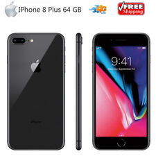 Unlocked Apple Iphone 8 Plus Mobile Phone 64G ROM iOS 11 4G LTE Smartphone 5.5""