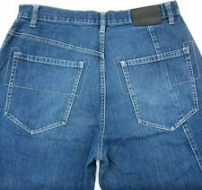 Sean Jean Mens 32 Designer Denim Blue Jeans 33X31
