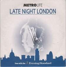 LATE NIGHT LONDON - PROMO CD (2003) QUINCY JONES, BUDDY RICH, NINA SIMONE ETC