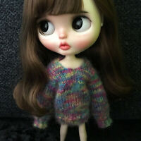 Colorful Doll Clothes Sweater For Blythe 1/6 BJD Doll Clothing Accessory
