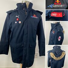 PUMA Red Bull Racing Formula 1 Teamline Winter Jacket Perfect Condition Sz M