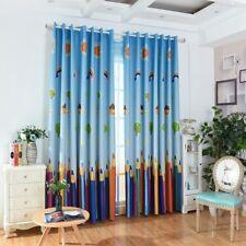 1PC Voile/Blackout Curtain Grommet Drape Window Sheer Panel Kids Room Decoration
