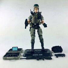 "3.75"" Gi Joe General  Hawk  with Accessories Rare Action Figure"