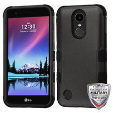 For LG V5 Harmony K20 Plus K20V Protective Shockproof Hard Case Tuff Black