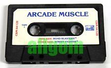 Cassetta Gioco COMMODORE CBM 64/128 ROAD BLASTERS + STREET FIGHTER Capcom