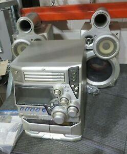 JVC MX-GT80 Stereo Receiver Unit CA-MXGT80 Music Player w/Speakers ---*B16*