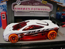 2014 FLAME FIGHTERS Design HW PROTOTYPE 12☆White/Red/Orange;Fire☆LOOSE☆HotWheels