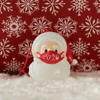 Santa Claus With Mask Christmas Tree Decoration Ornaments 2020 Quarantine ly