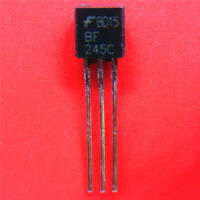 BF245C JFET TRANSISTOR FAIRCHILD TO92 5 PIECES NEW