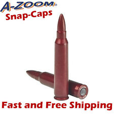 A-Zoom 223 Remington Rem Metal Snap-Caps -Training/Dummy Rounds -2 Pack 12222
