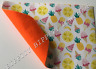 """BRAND NEW """"SUMMER FRUITS"""" FELT BACKED DOUBLE SIDED FABRIC SHEET..HAIR BOWS,"""