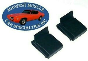 GM Chevy Radiator Fan Shroud Clips Chevy II Chevelle Camaro Impala Nova 2pcs MO