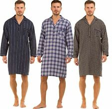 Gents Haigman Nightwear BRUSHED 100% Cotton 7394 Nightshirt