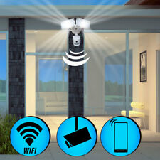 LED Außen Wand Lampe WIFI Kamera SD Überwachung Leuchte APP Sensor IP44 Fluter