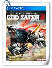 PSV SONY Playstation VITA GOD EATER 2 JAPANESE Action Namco Bandai Games
