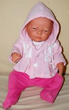 BERJUSA Newborn 20in Anatomically Correct Baby Girl Doll Sophie with 2 Outfits
