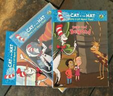 Lot Of 3 New The Cat in the Hat DVDs Skin We Are In, Outer Space, Bugs PBS Kids