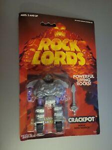 Vintage 1985 Rock Lords Crackpot NIP Bandai GoBots MOC