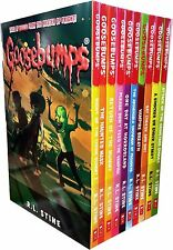 Goosebumps Series 10 Books Collection Set (Classic Covers) Haunted Mask, Vampire