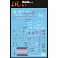 Water Slide Decal Stickers for Bandai MG 1/100 HD Strike Ver.RM Gundam Model Kit