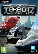 Train Simulator 2017 Edition (PC DVD) BRAND NEW SEALED TRAINZ Train