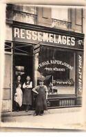 Commerce - n°65713 - Devanture magasin de Ressemelages - Carte photo à localiser