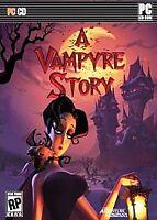 "A Vampyre Story PC GAME Brand NEW Sealed! Vampire ""T"" TEEN KIDS HALLOWEEN - USA"