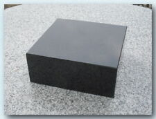 Granitsockel, Grabsockel, Lampensockel, Granit, China Black, 20x20x8cm, Neu!!!
