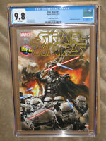 CGC 9.8 STAR WARS 1 M&M DORMAN VARIANT 2015 MARVEL MOVIE COMIC DARTH VADER SDCC