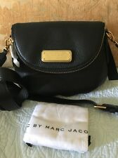 Marc By Marc Jacobs Black Classic Q Mini Natasha Crossbody Handbag New $298