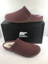 SOREL Nakiska Scuff Women's Size 12 Light Raisin/Natural Slipper Shoes X21-189