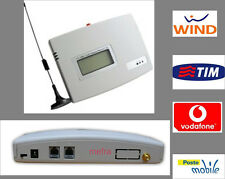 COMBINATORE TELEFONICO TERMINAL GSM TRASFORMA RETE FISSA IN GSM SIM TELEFONICA