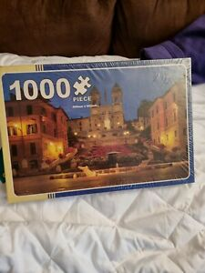 SPANISH STEPS,ROME PUZZLE