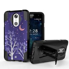 Shockproof Case w/Stand Cover for LG LV3 Aristo MS210 Phoenix 3 Fortune Risio 2