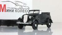 Scale model car 1:43, GAZ-61-40 open, dark grey 1941