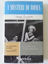 CESARE ZAVATTINI I MISTERI DI ROMA CAPPELLI 1963 1° ED.