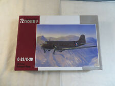 Special Hobby 1:72 C-33/C-39 US Army Transport Plane Model Kit Open SH72176