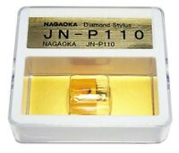 Record player Stereo Cartridge replacement needle Nagaoka JN-P110 MP-110 Japan