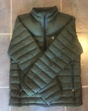 NWT Mountain Hardwear Dynotherm Down Jacket Men's Medium Surplus Green