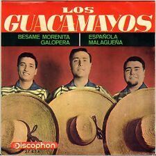 "LOS GUACAMAYOS ""BESAME MORENITA"" LATIN 60'S EP DISCOPHON 27.434"