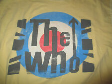 Live Nation 2010 The WHO Repro (LG) T-Shirt YELLOW