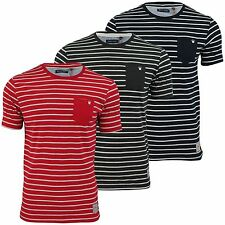 Polyester Striped Graphic T-Shirts for Men