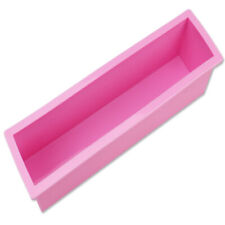 Rectangle Loaf Soap Mold Silicone DIY Cold Processing Tool Cake Baking Toast diy