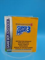 jeu video notice BE nintendo gameboy advance NEU6 super advance 4 mario 3