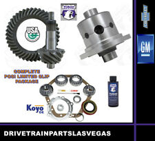 GM Chevy 10.5 14 BOLT Posi Limited Slip Pkg 4.10 Ratio Master Kit Yukon 99 to 15