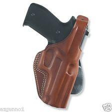 """Galco PLE Paddle Holster for 1911's 4"""" & 4.5"""", Right Hand Tan, Part # PLE266"""
