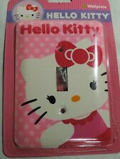 Hello Kitty Decorative Light Switch Wall Plate Cover Single Toggle New Sealed